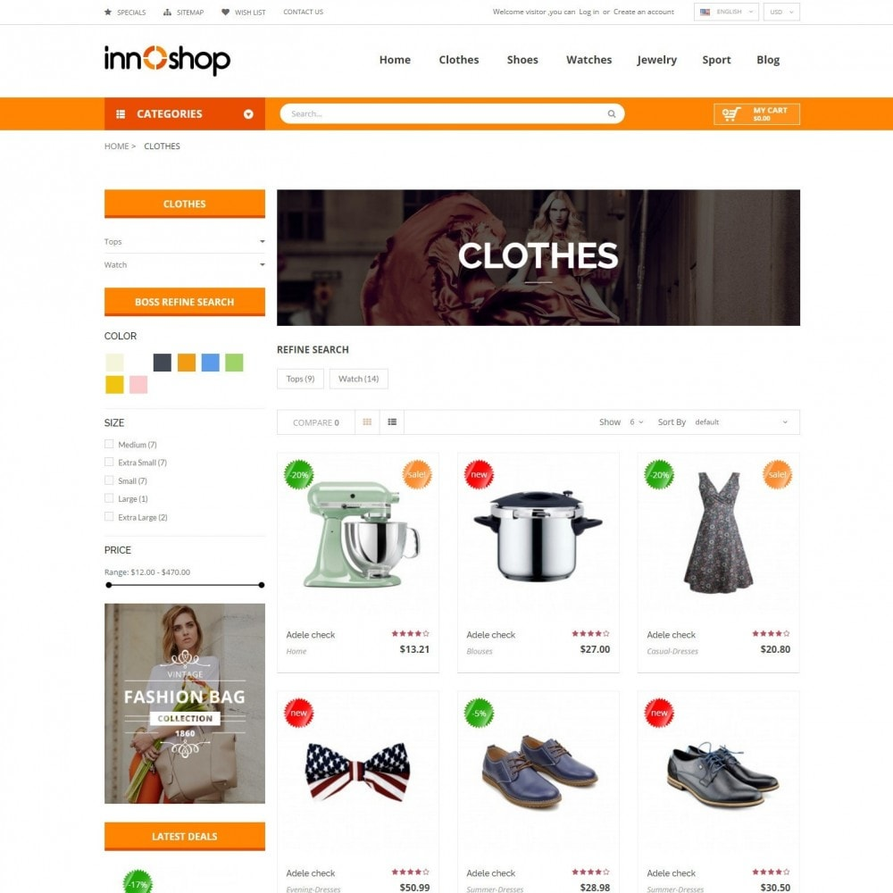 theme - Electronique & High Tech - Innoshop | Fashion Electronis Supermarket - 3