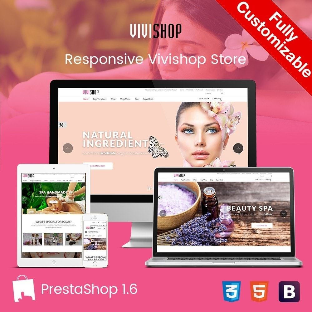 theme - Salute & Bellezza - Vivishop |  Drug Health & Beauty Store - 1