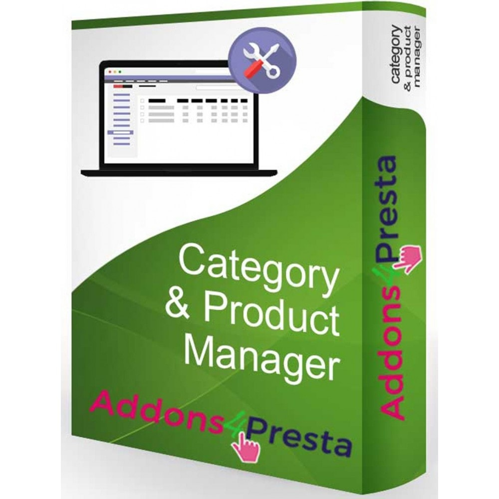 module - Fast & Mass Update - Category & Product Manager (Drag & Drop) - 1