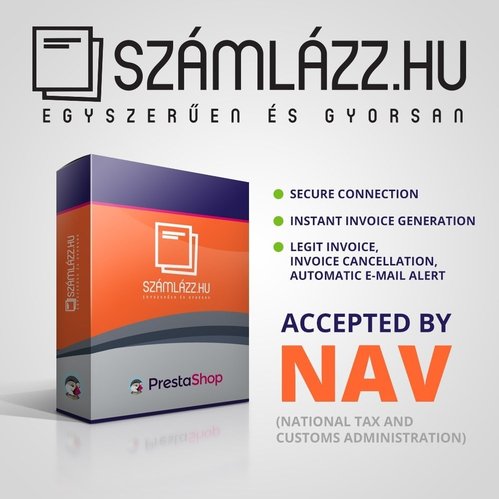 module - Accounting & Invoicing - Számlázz.hu Integration - 1