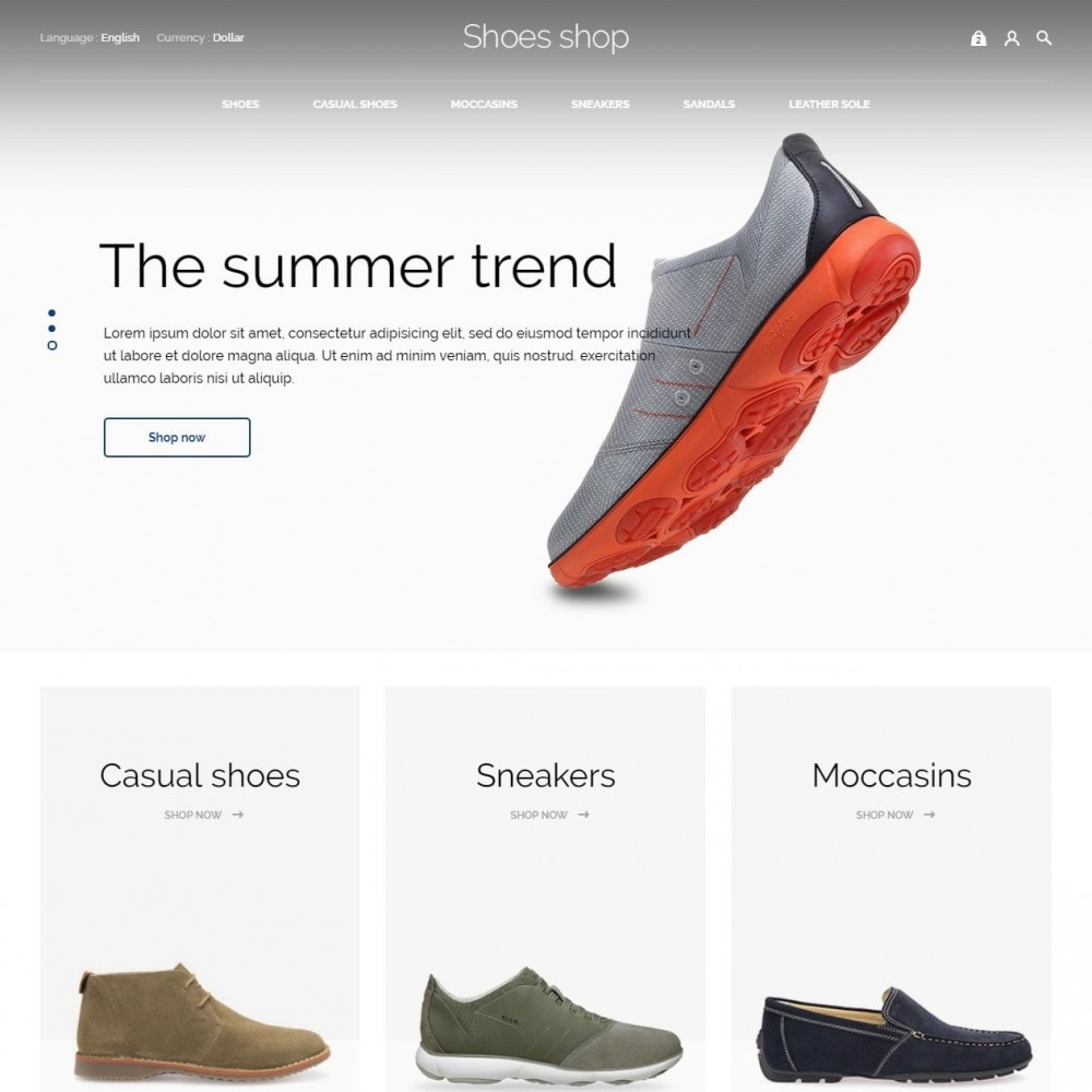 theme - Mode & Chaussures - Shoes shop - 3