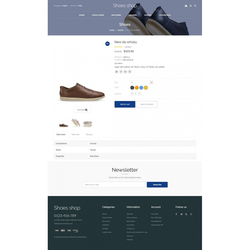 theme - Mode & Chaussures - Shoes shop - 8