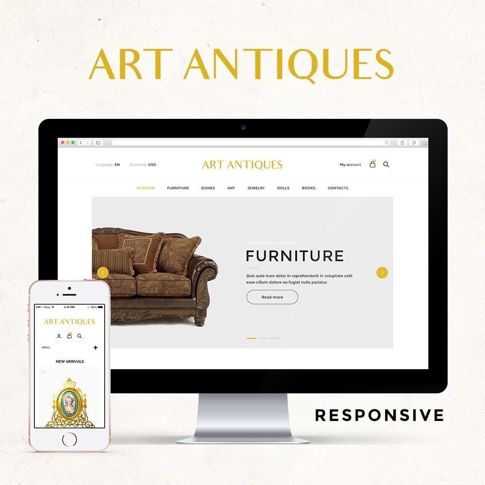 theme - Arte & Cultura - Art Antiqua - 1