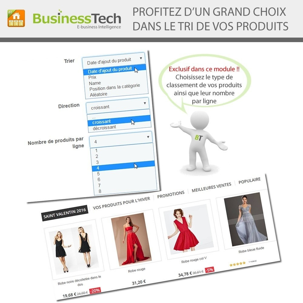 module - Produits en page d'accueil - Advanced Featured Products - 6