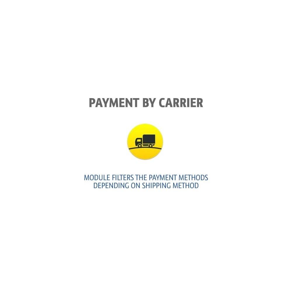 module - Перевозчики - Фильтр способов оплаты - 1
