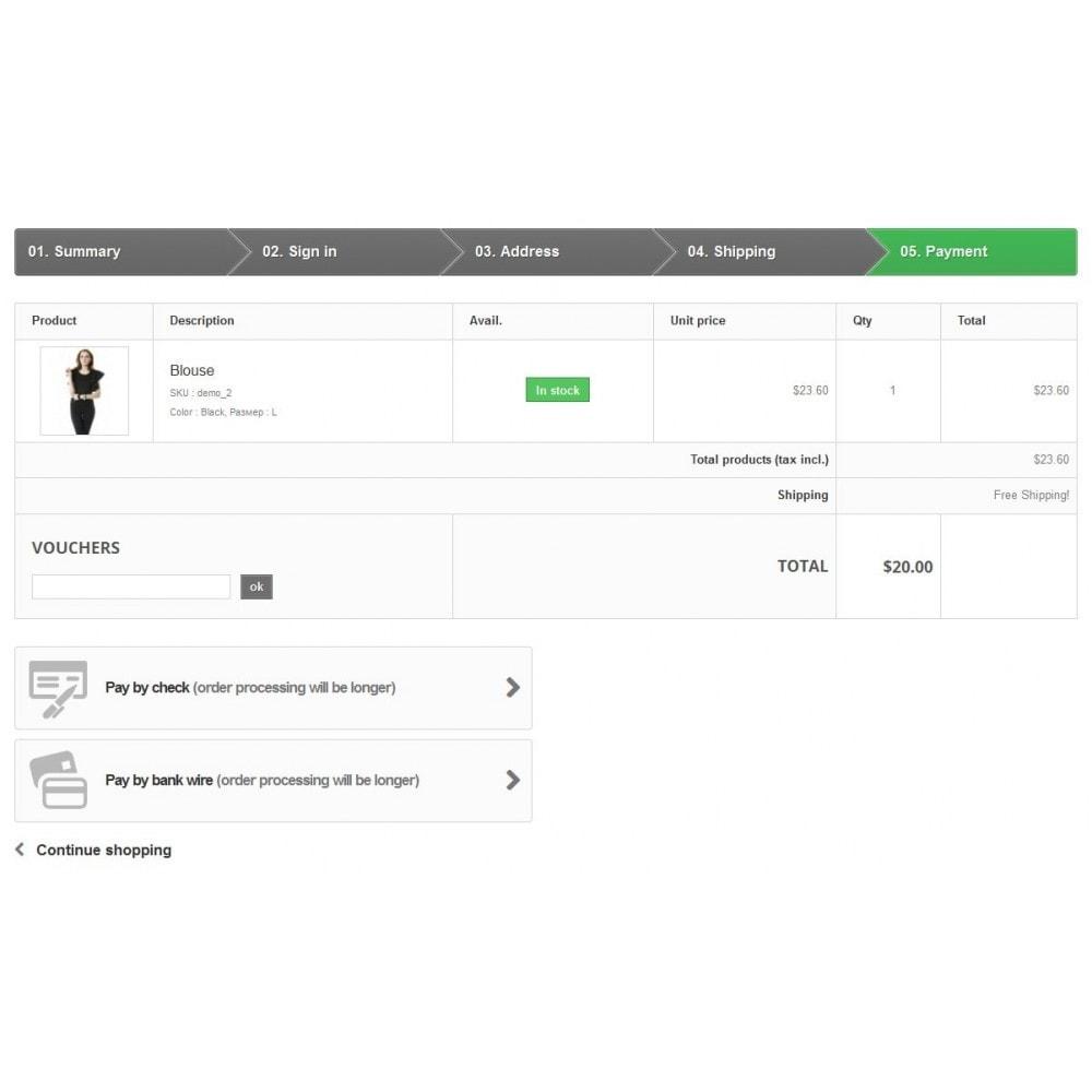 module - Перевозчики - Фильтр способов оплаты - 3