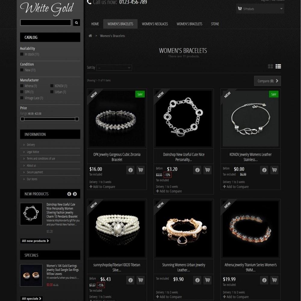theme - Jewelry & Accessories - WhiteGold 2.5 - 3