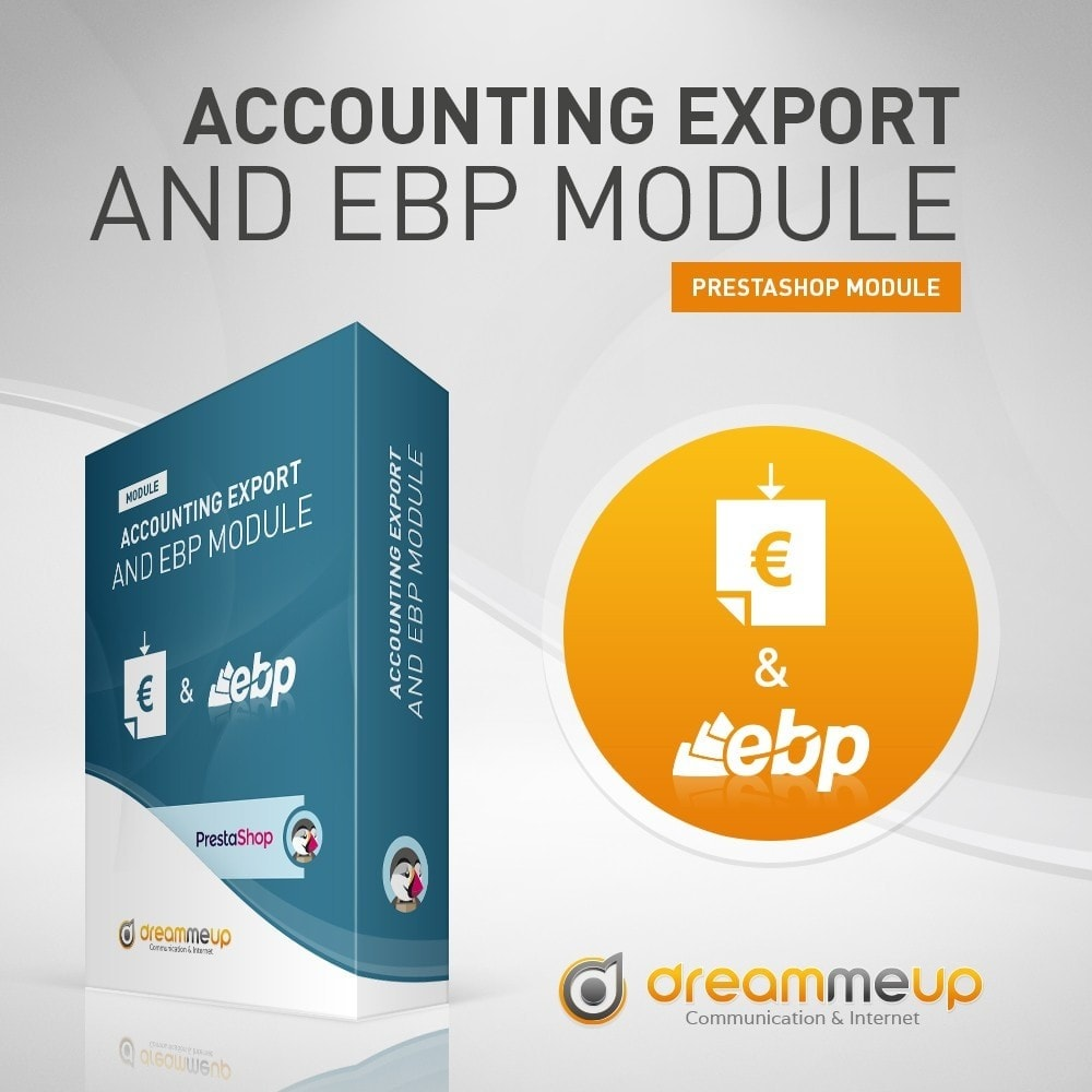 module - Data Integraties (CRM, ERP...) - DMU Accounting Export and EBP - 2