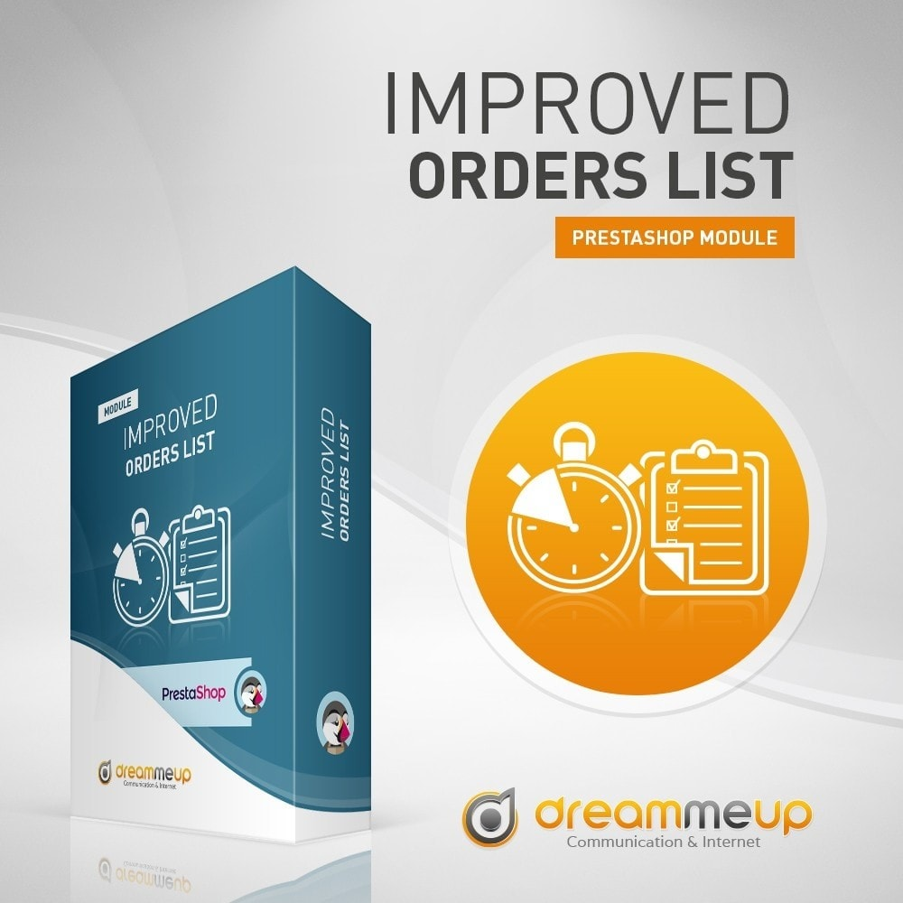 module - Gerenciamento de pedidos - DMU Improved Order List - 2