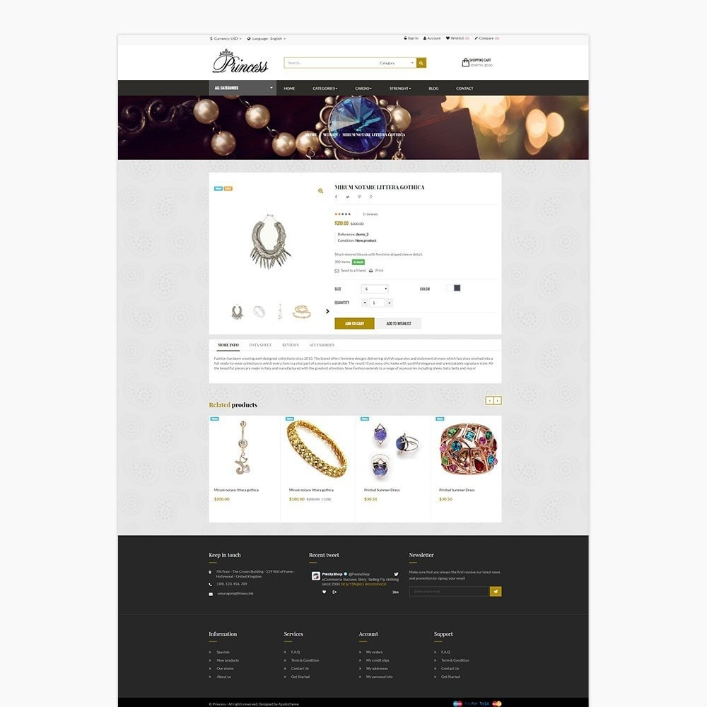 theme - Jewelry & Accessories - Ap Princess - 5
