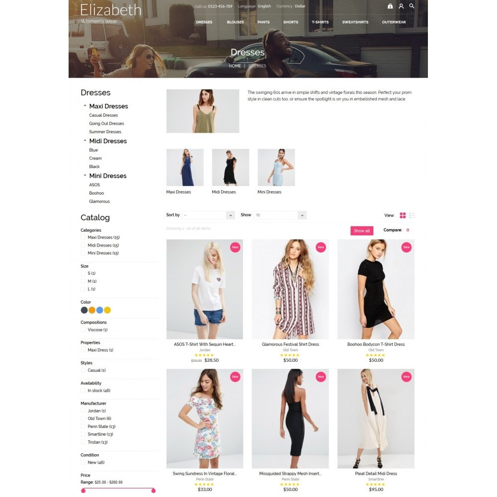 theme - Mode & Schoenen - Elizabeth Fashion Store - 5