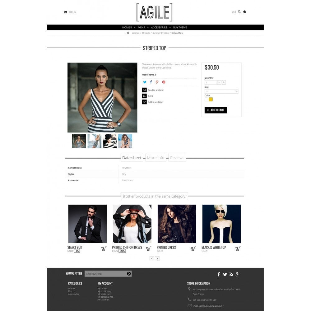 theme - Joyas y Accesorios - Agile modern - 5