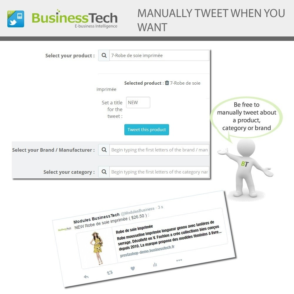 module - Products on Facebook & Social Networks - Twitter Cards + Automatic Product Tweets - 6