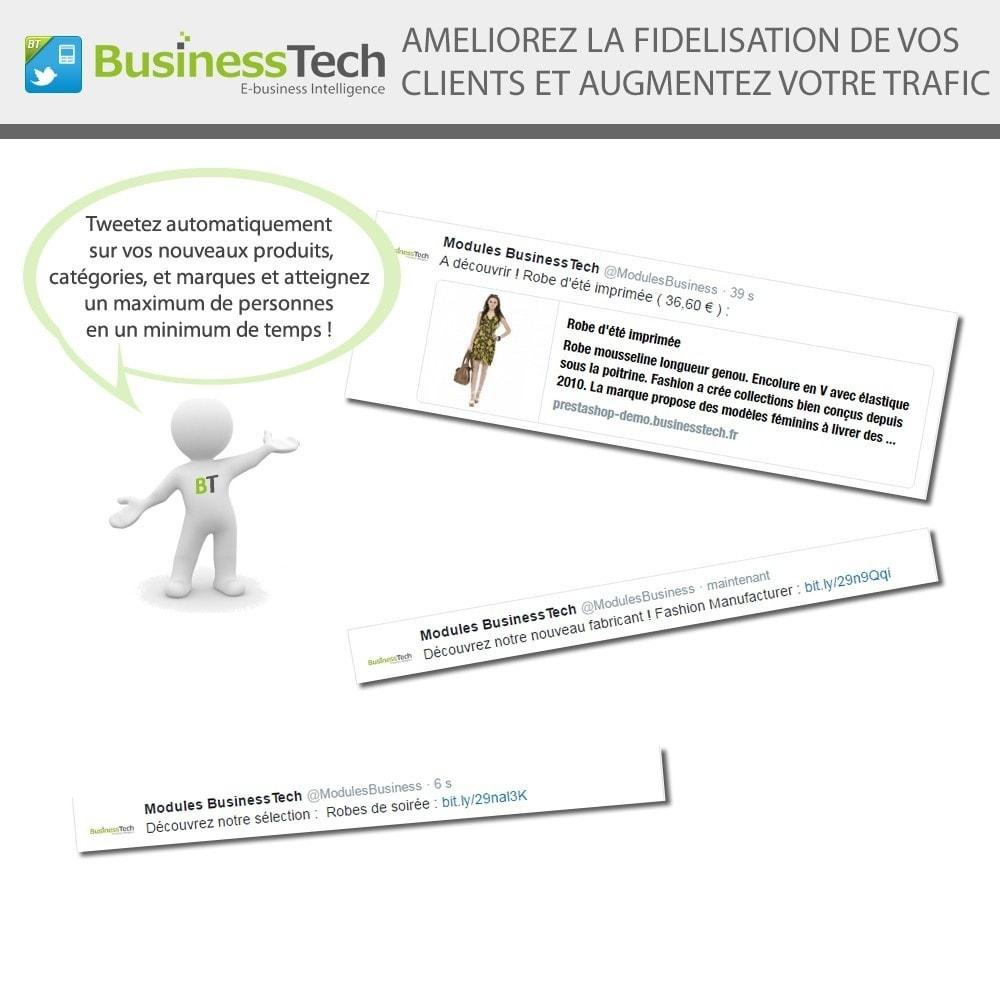 module - Produits sur Facebook & réseaux sociaux - Twitter Cards + Tweets de produits automatiques - 3