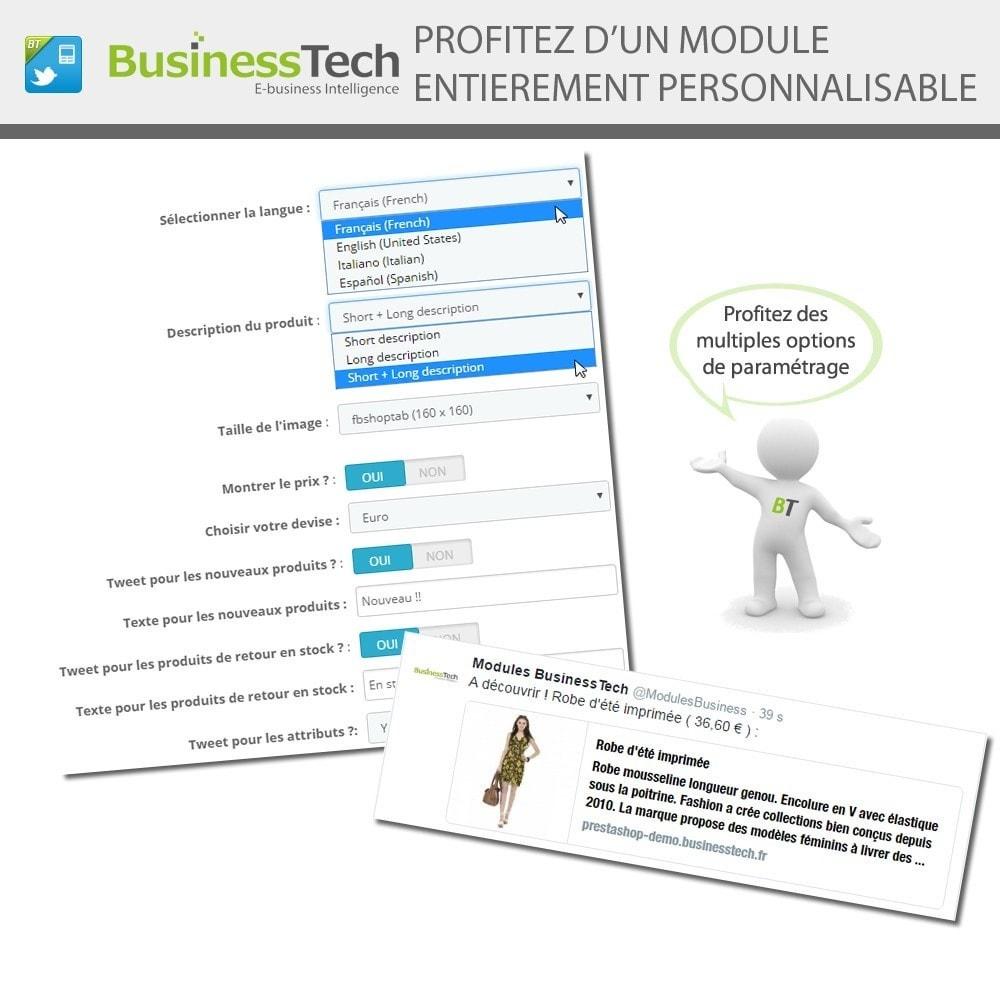 module - Produits sur Facebook & réseaux sociaux - Twitter Cards + Tweets de produits automatiques - 4