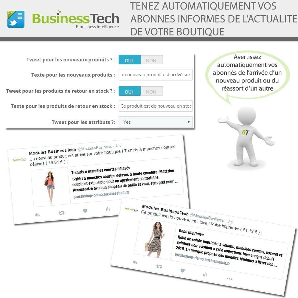 module - Produits sur Facebook & réseaux sociaux - Twitter Cards + Tweets de produits automatiques - 5