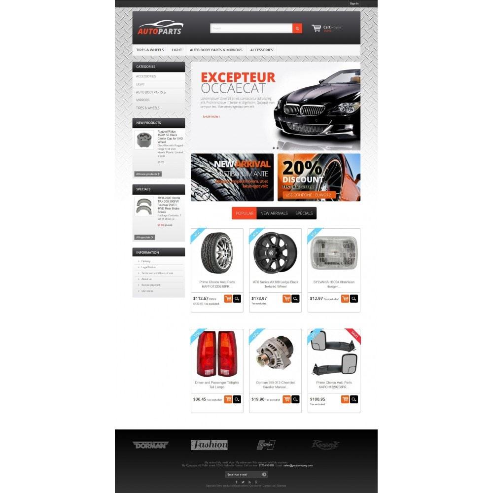 Stylish Auto Parts Prestashop Template