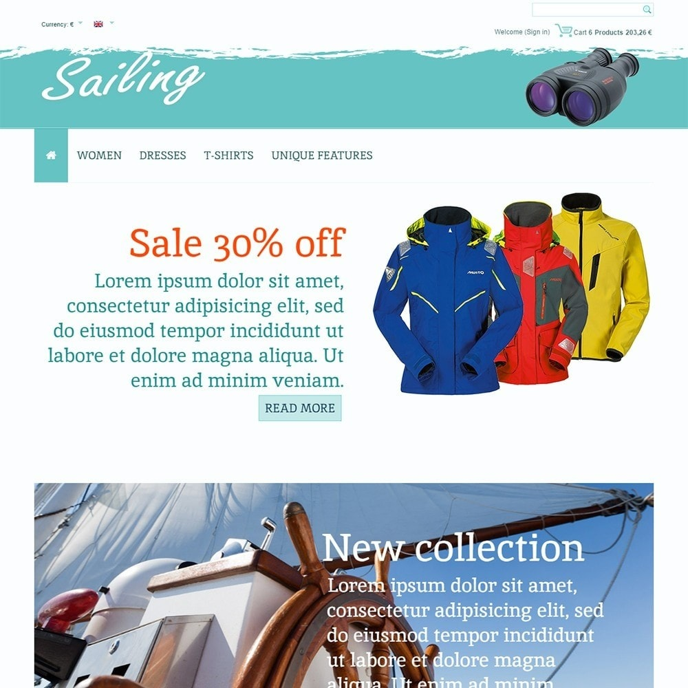theme - Deportes, Actividades y Viajes - Sailing - 2