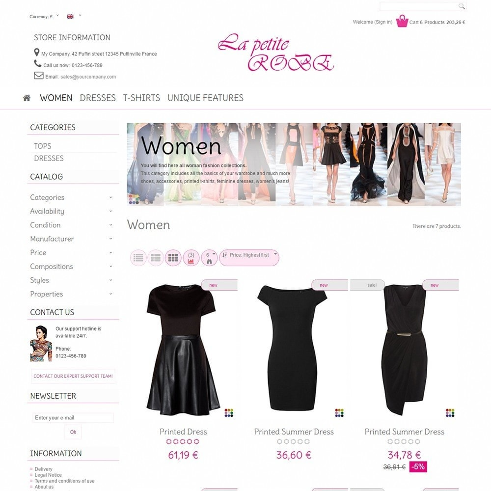 theme - Moda & Calzature - La Petite Robe - 3