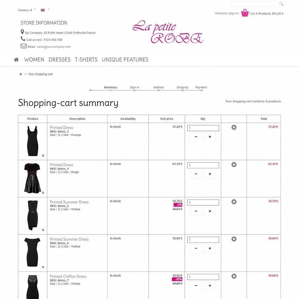 theme - Fashion & Shoes - La Petite Robe - 5
