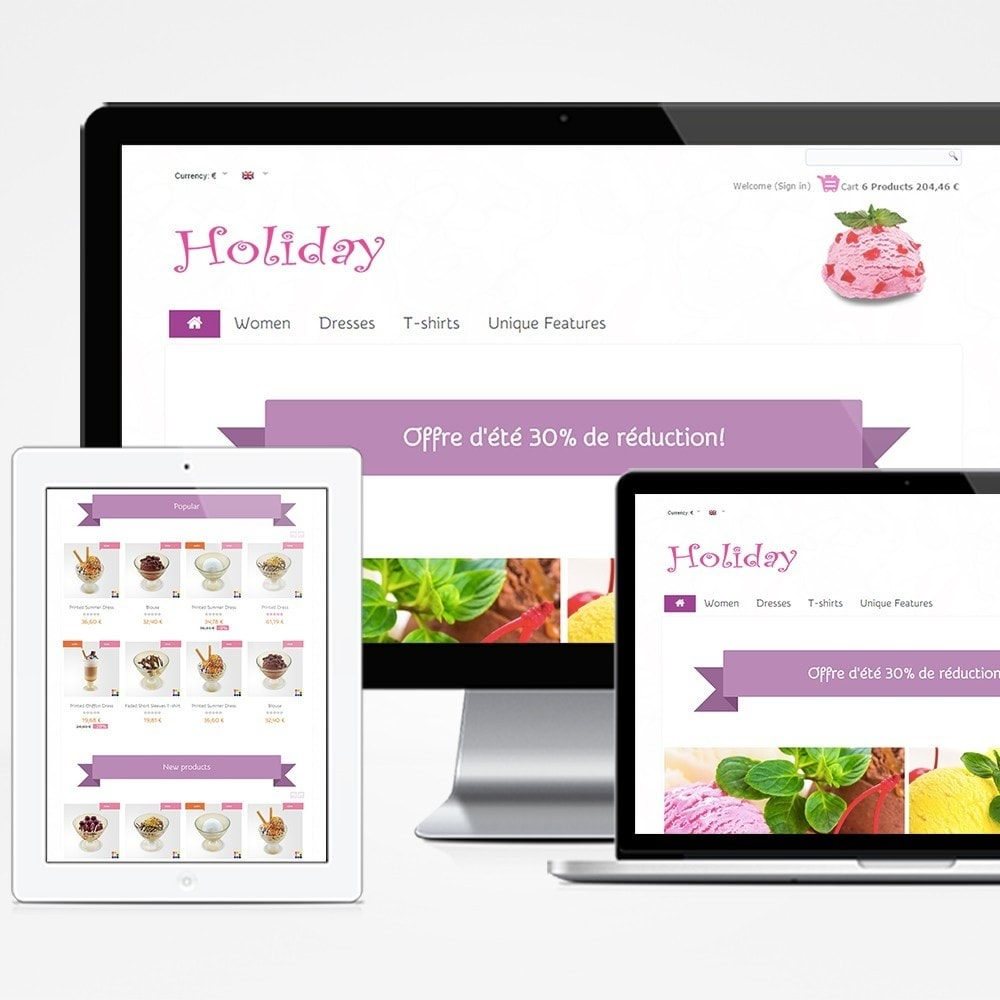 theme - Eten & Restaurant - Holiday - 1