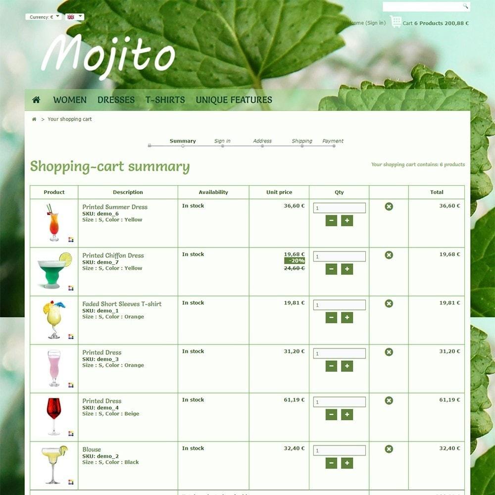 theme - Drink & Wine - Mojito - 5