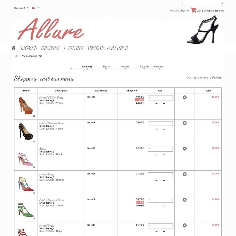 theme - Moda & Calçados - Allure - 5