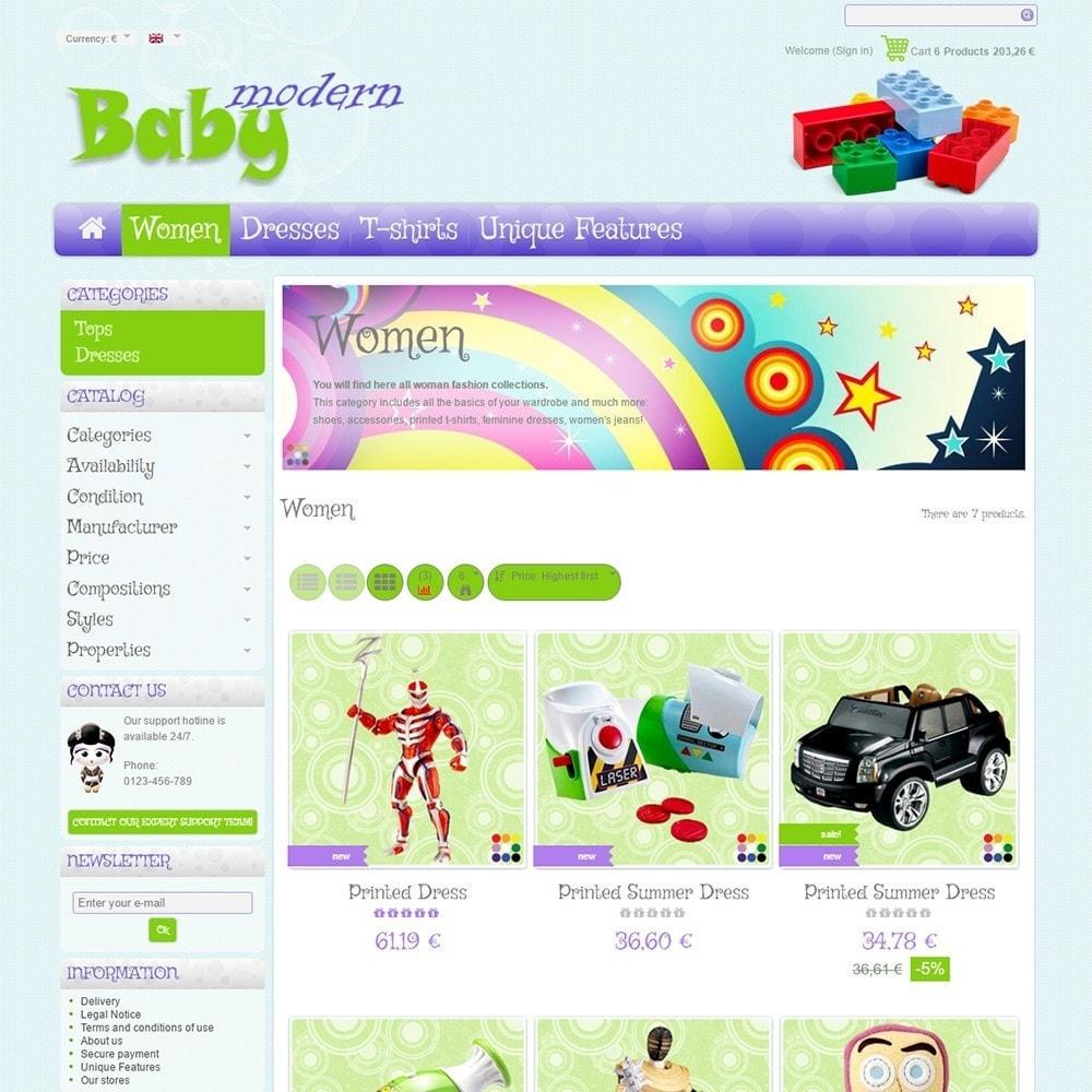 theme - Дети и Игрушки - Modern Baby - 3