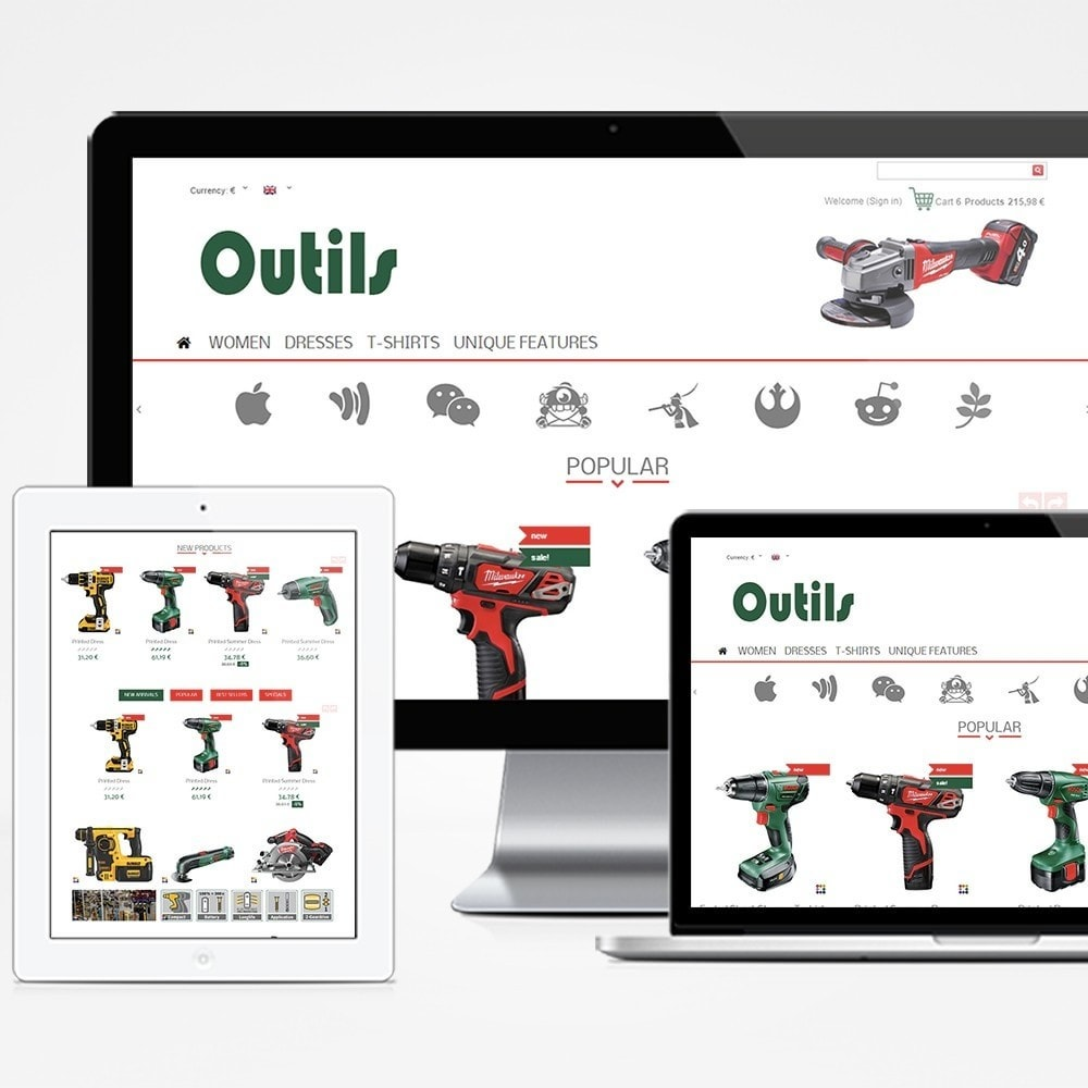 theme - Huis & Buitenleven - Outils - 1