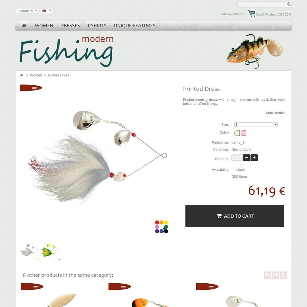 theme - Sports, Activities & Travel - Modern Fishing - 4