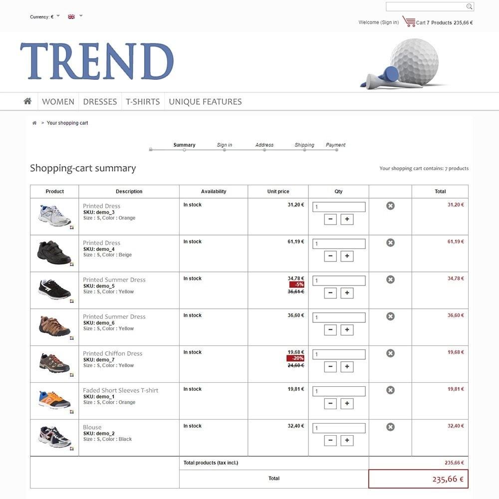 theme - Sport, Loisirs & Voyage - Trend - 5