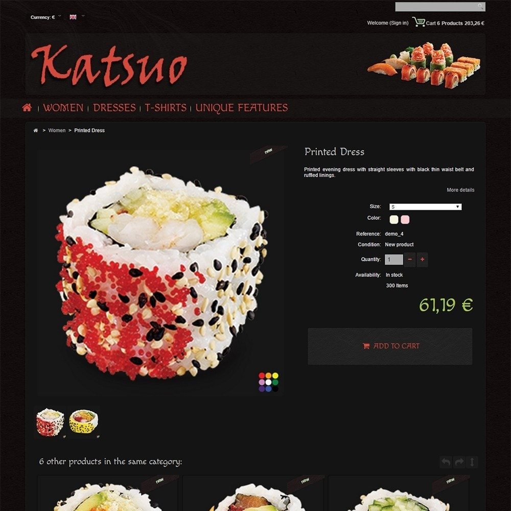 theme - Food & Restaurant - Katsuo - 5