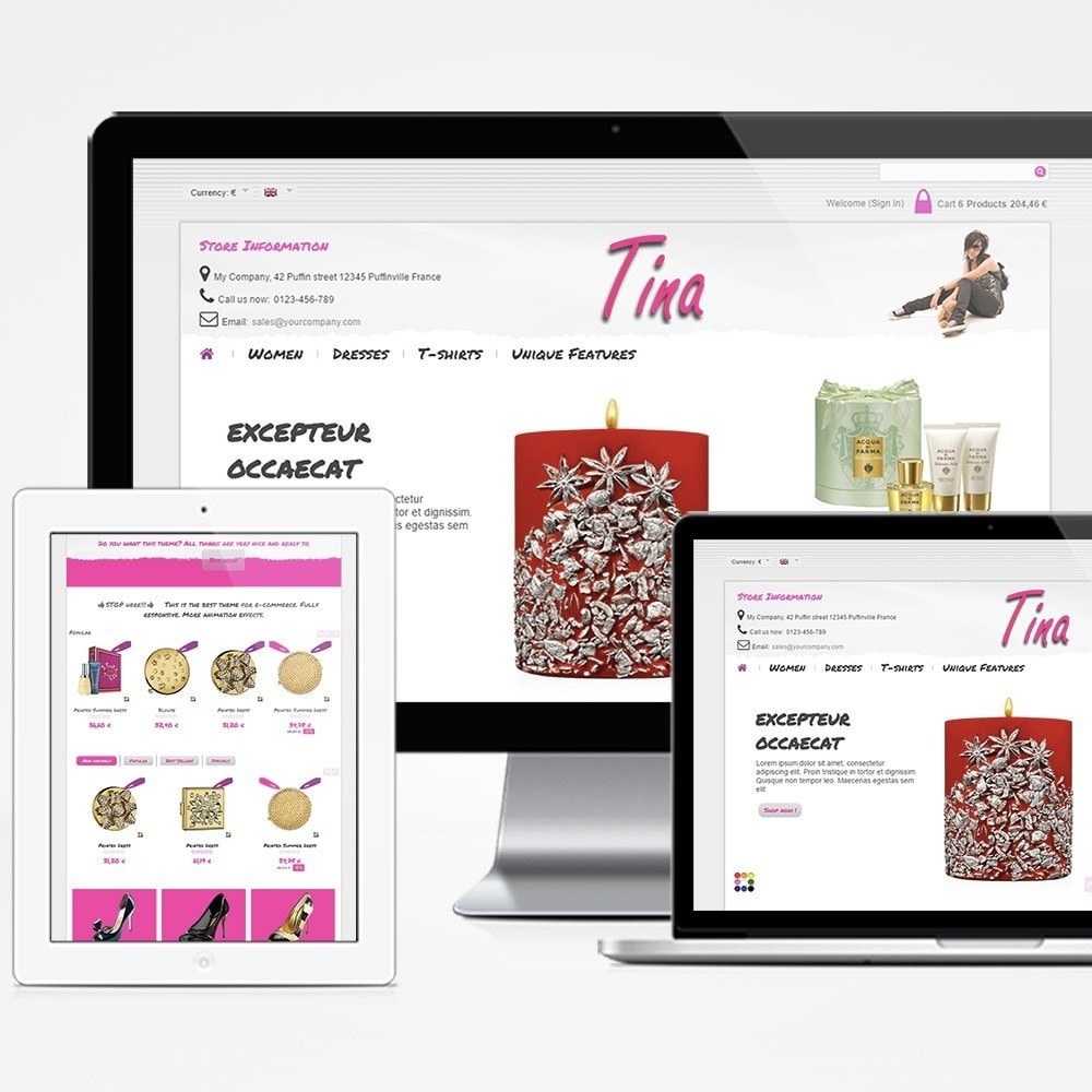 theme - Jewelry & Accessories - Tina - 1