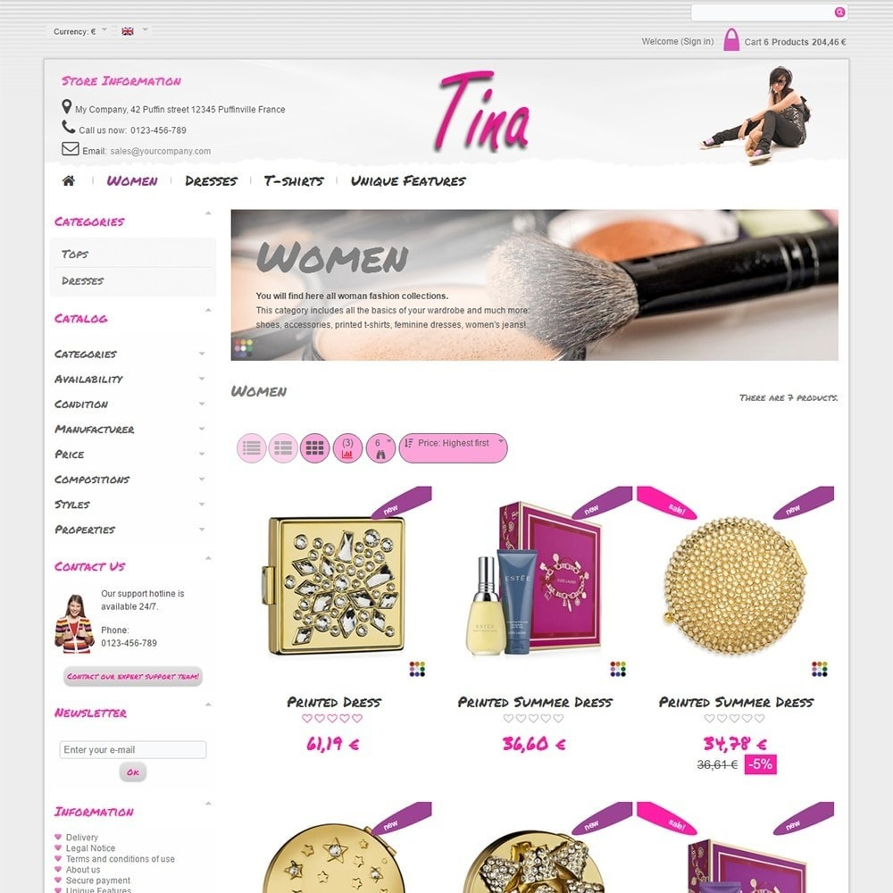theme - Jewelry & Accessories - Tina - 4