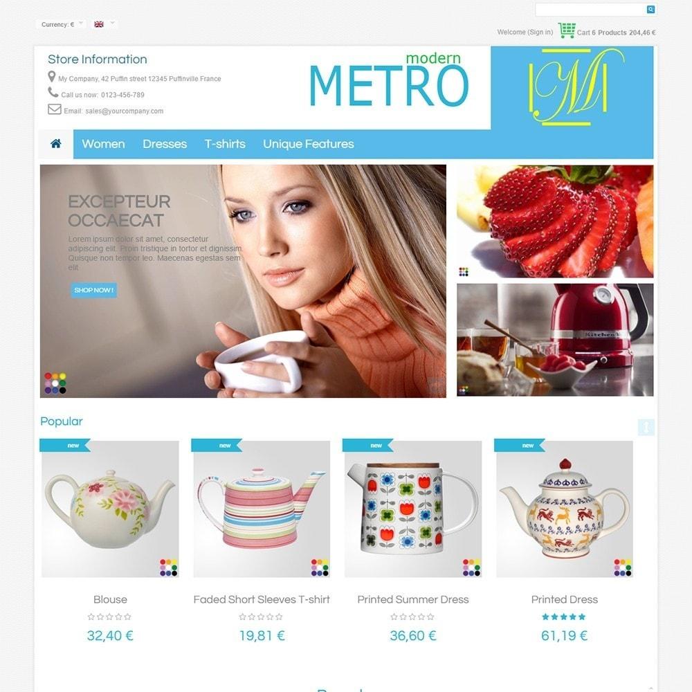 theme - Мода и обувь - Modern Metro - 3