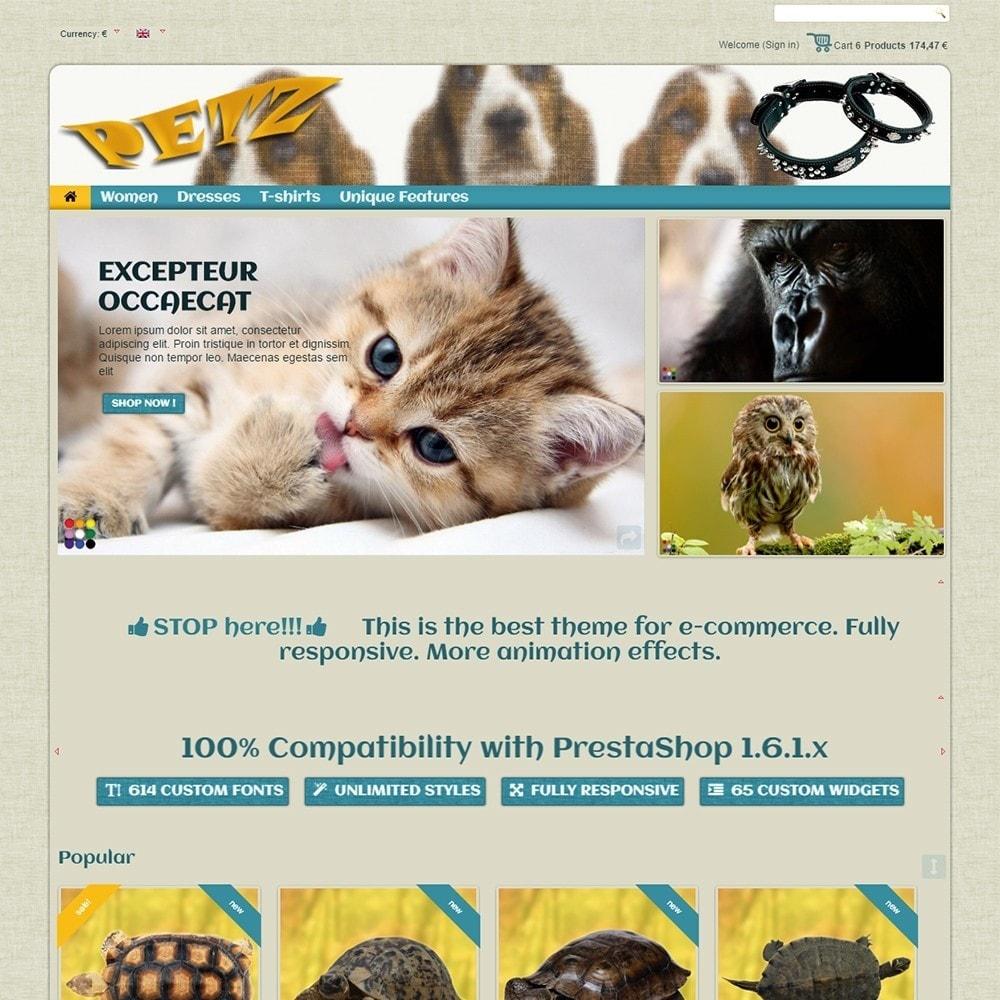 theme - Animales y Mascotas - Petz - 3