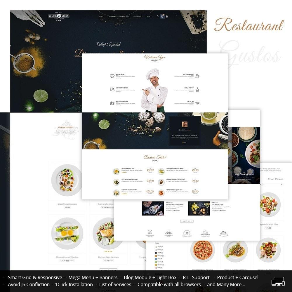 theme - Продовольствие и рестораны - Restaurant - 1
