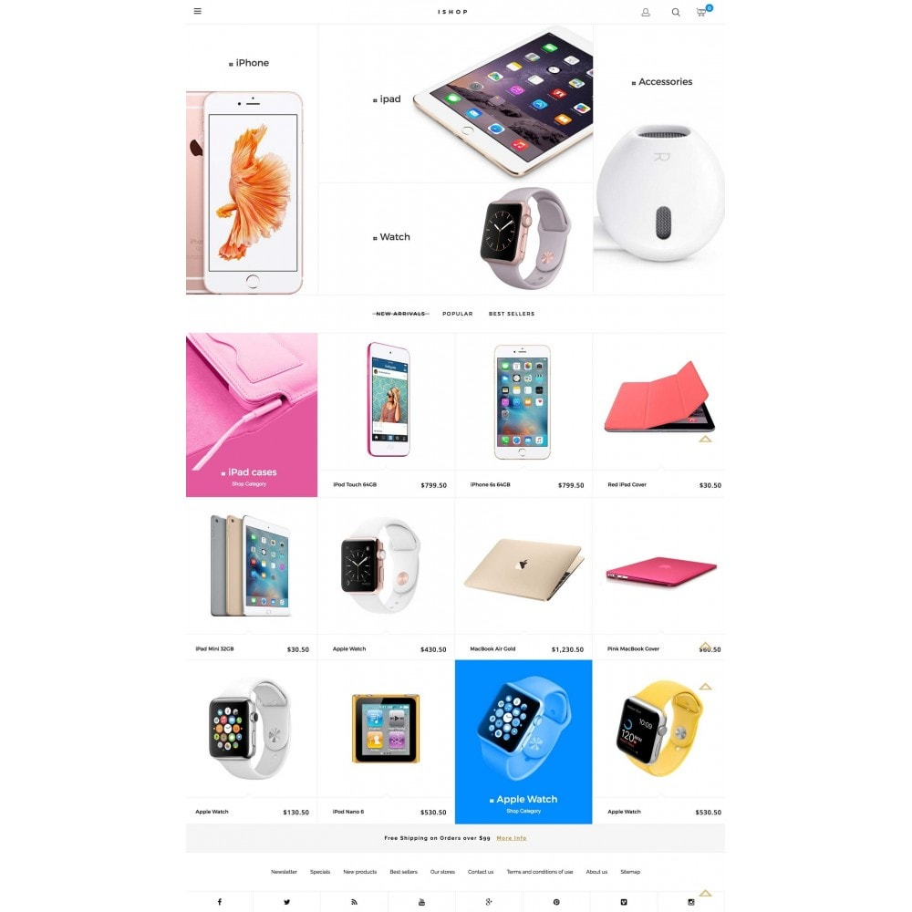 theme - Electronics & Computers - iShop - 2
