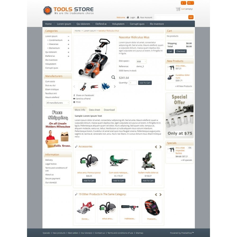 theme - Casa & Jardins - Tools Shop - 4