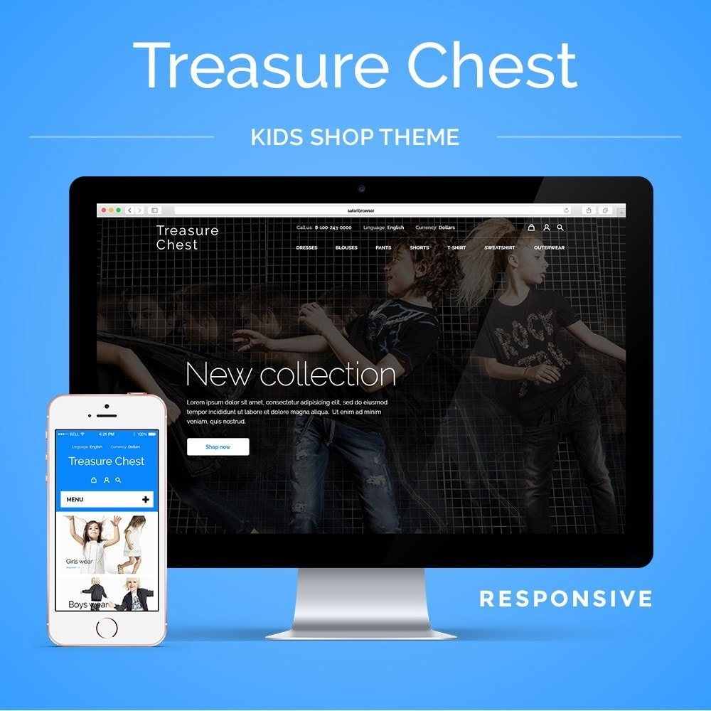 theme - Kinder & Spielzeug - Treasure Chest Kids Store - 1