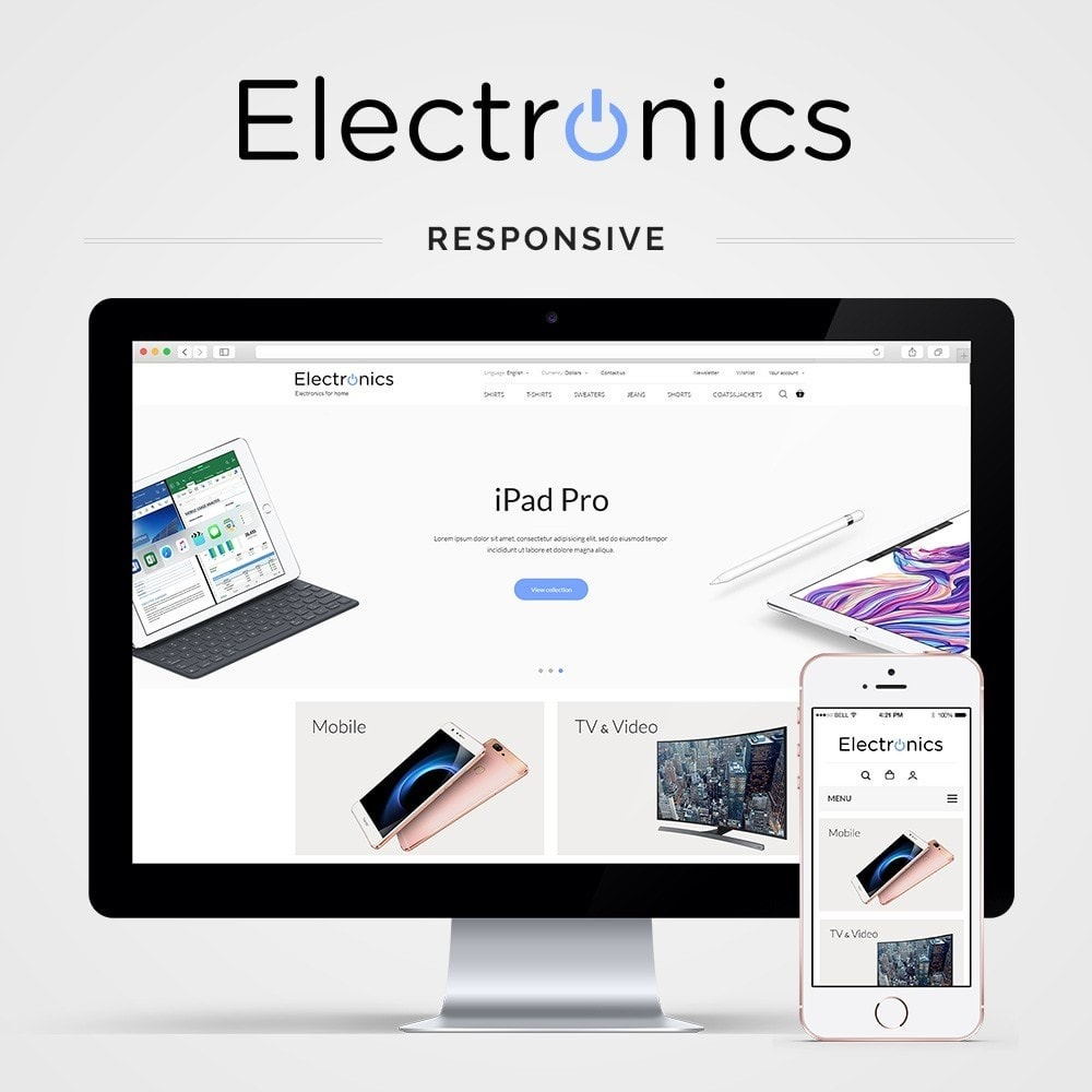 theme - Elektronica & High Tech - Electronics High-tech Shop - 1