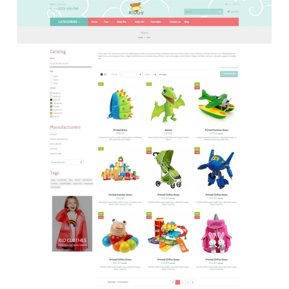 theme - Enfants & Jouets - Babies & Kids - 4
