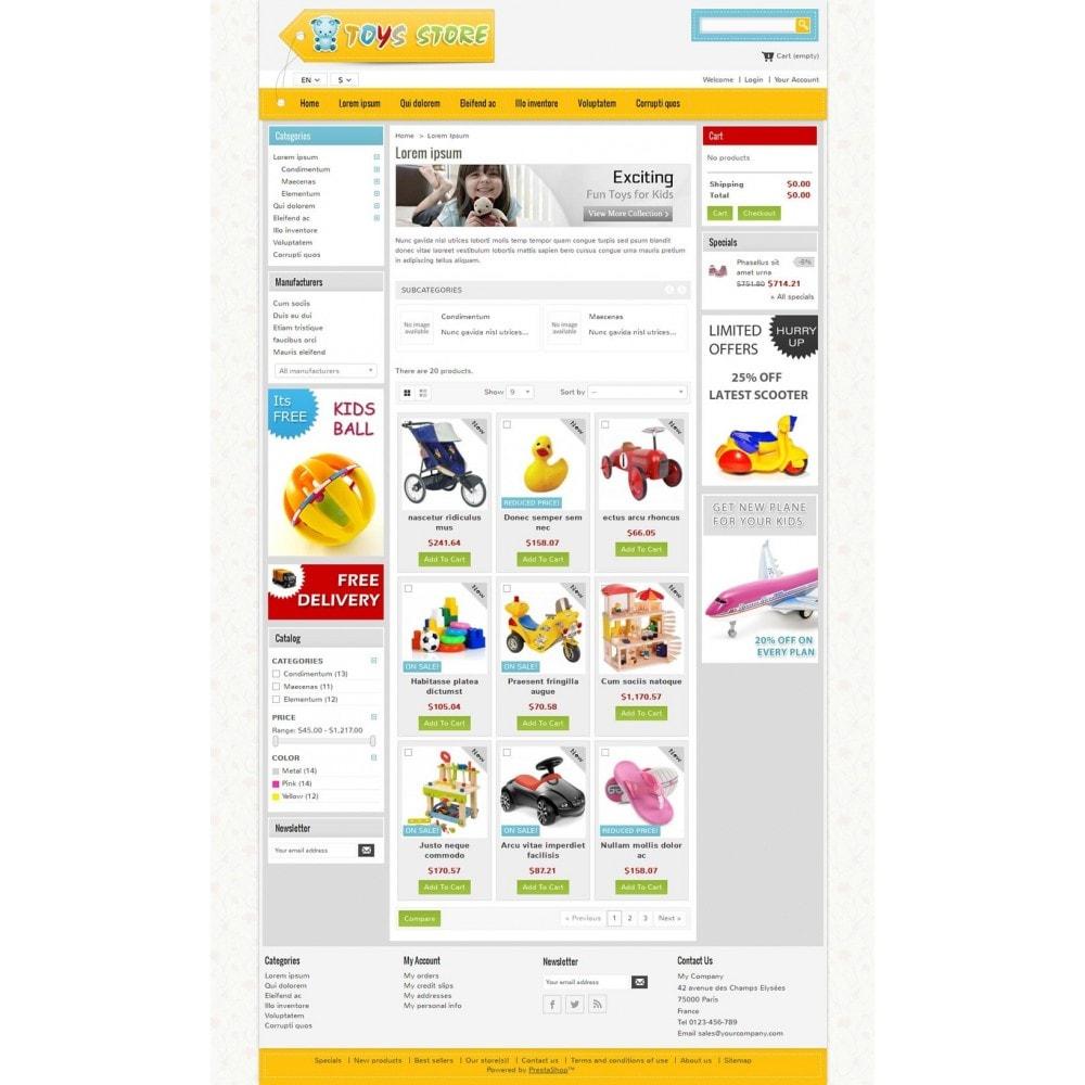 theme - Niños y Juguetes - Mini Toys Store - 3