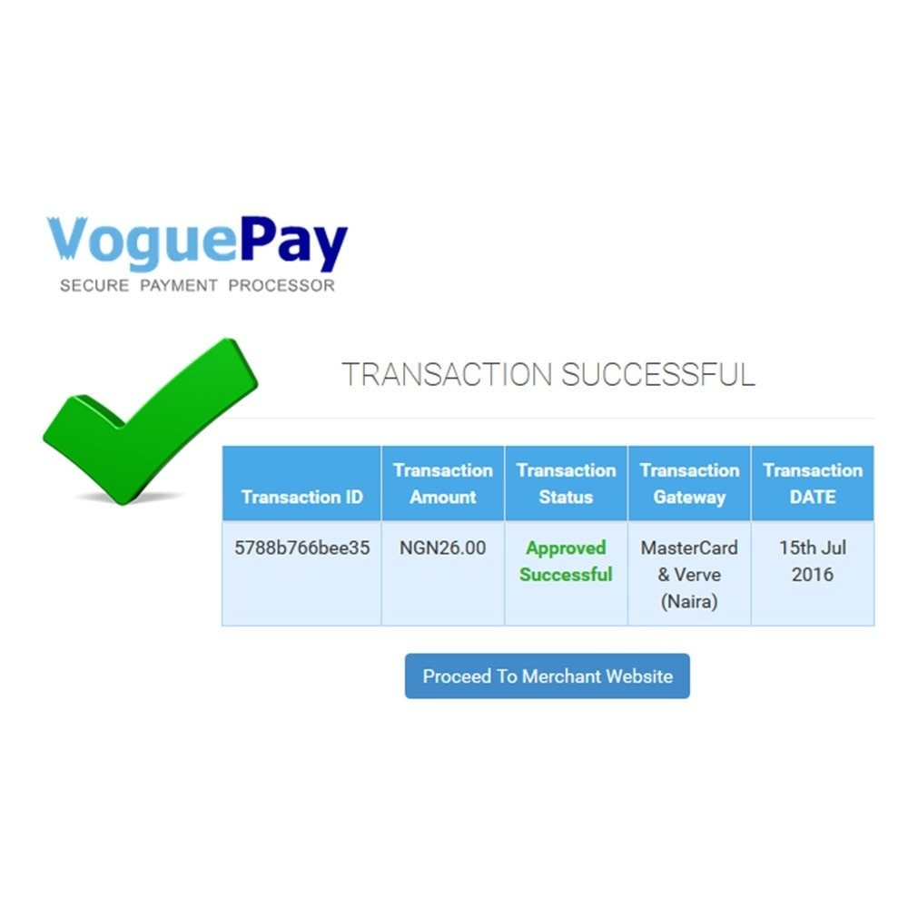 module - Payment by Card or Wallet - iLink-VoguePay - 5