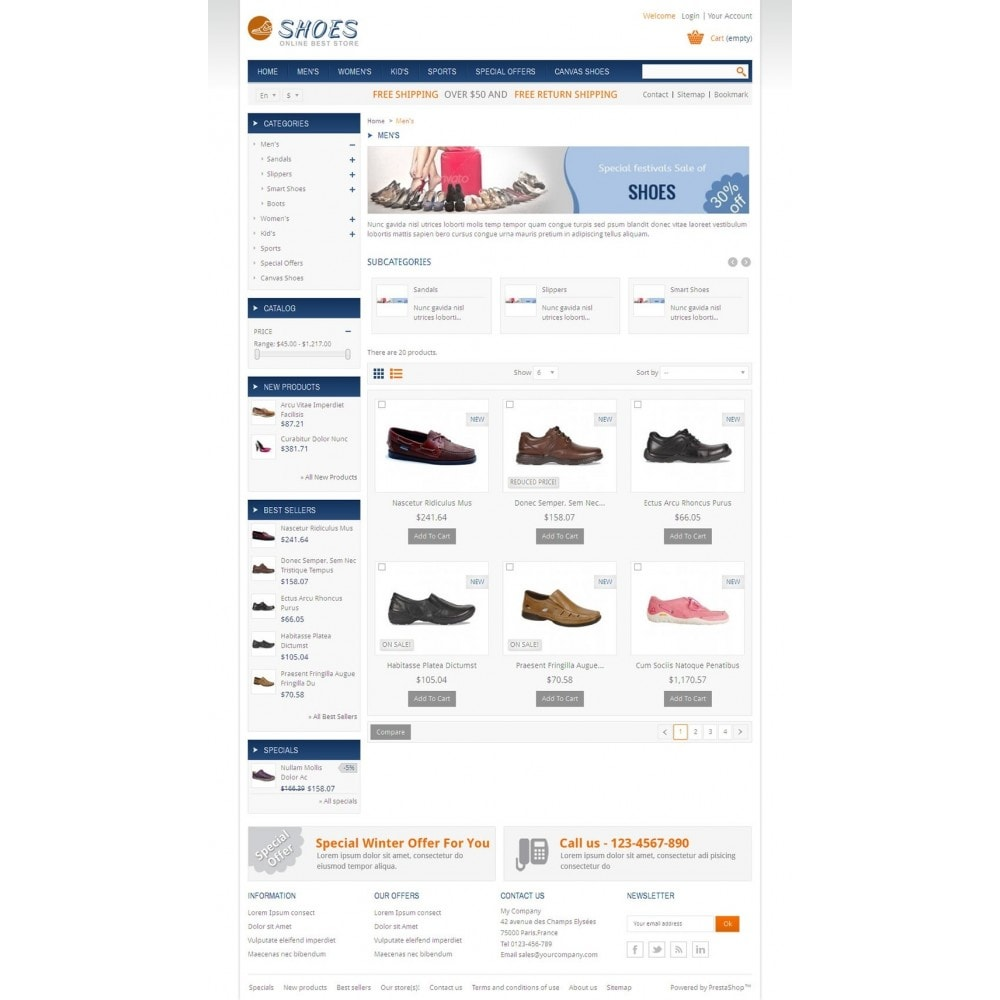 theme - Mode & Schoenen - Online Shoes Store - 3