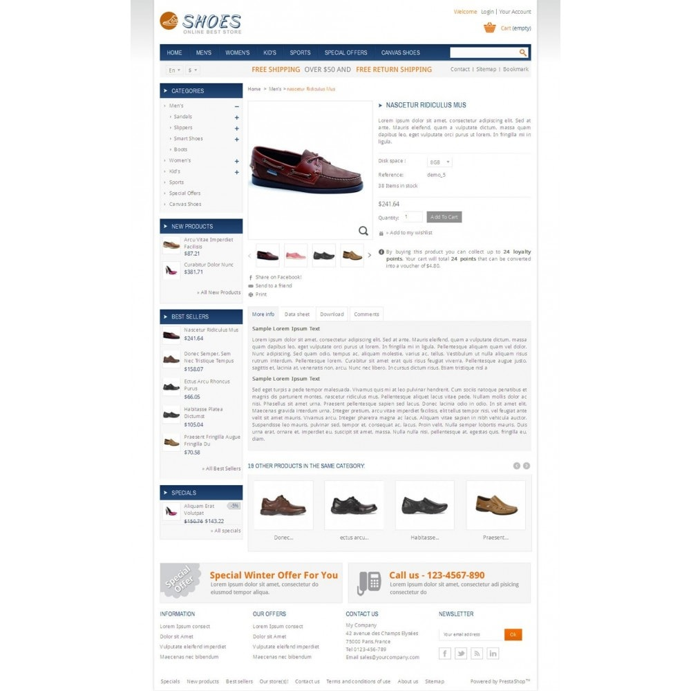 theme - Mode & Schoenen - Online Shoes Store - 4