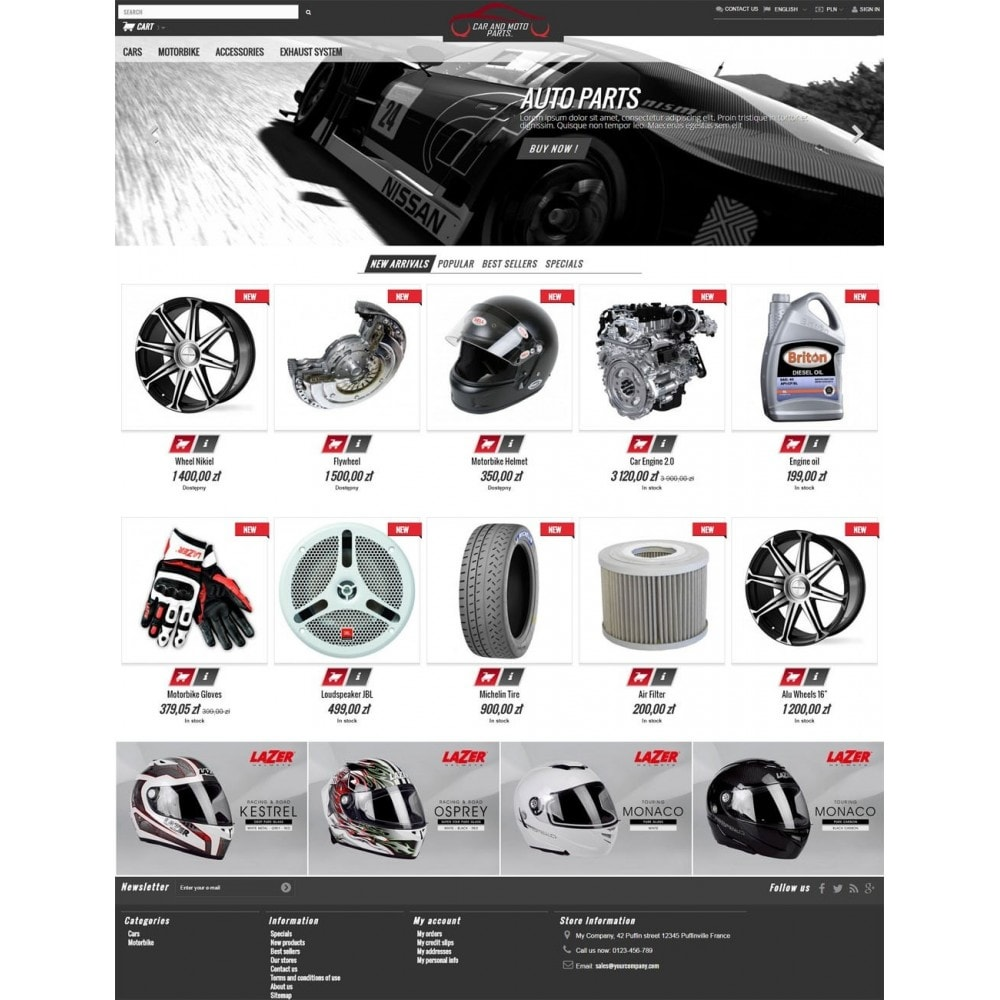 theme - Auto's & Motoren - Car and Moto Parts - 2