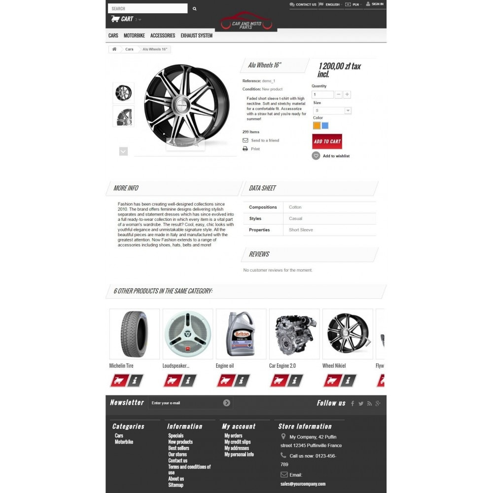 theme - Autos & Motorräder - Car and Moto Parts - 7