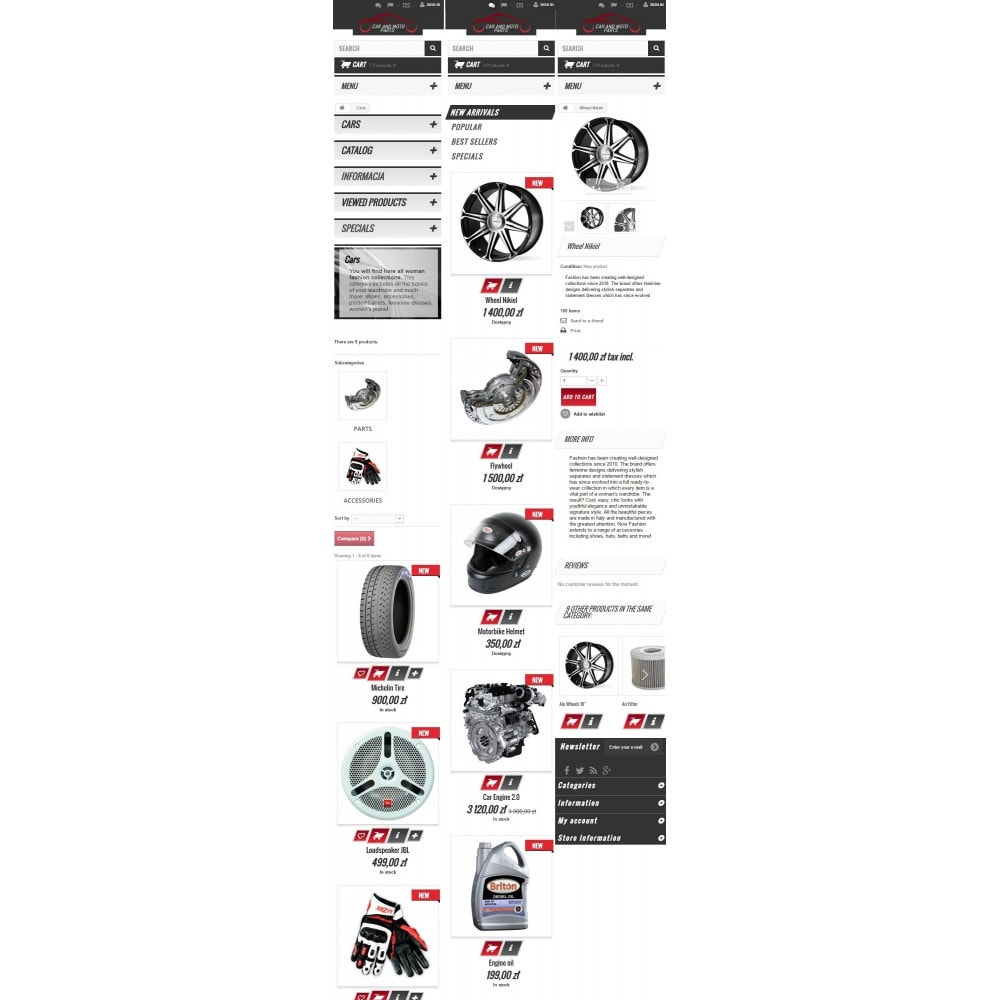 theme - Carros & Motos - Car and Moto Parts - 9