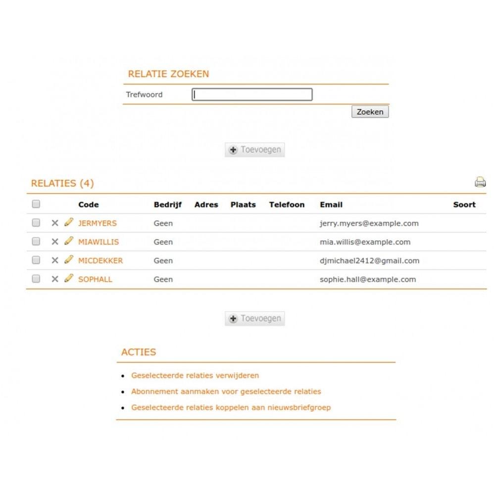 module - Contabilidad y Facturas - Unofficial e-Boekhouden.nl module - 9